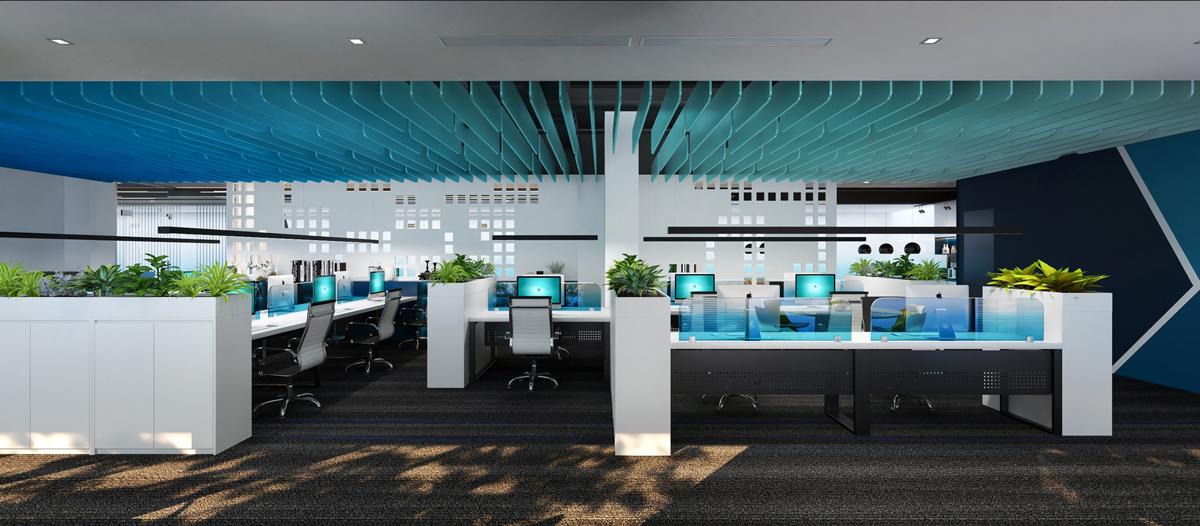 Phòng làm việc tại NHS Office (thiết kế bởi ARC DECOR)